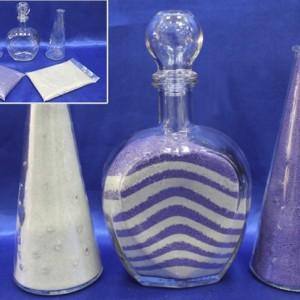 Набор для песочной церемонии фиолетовый
