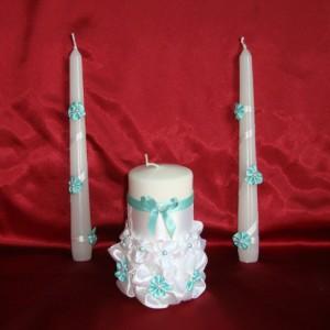 Свечи семейный очаг цвет Тиффани 83