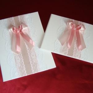 Папка и книга пожеланий на свадьбу роза пудра