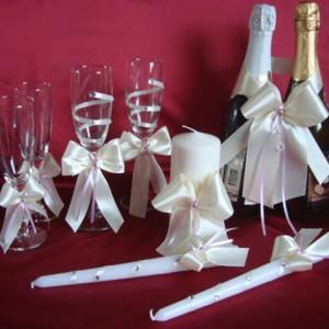 ксессуары на свадьбу линии любви айвори сирень