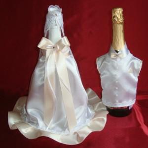 Костюм жених невеста на шампанское 75