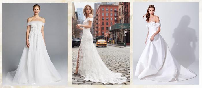 свадебные платья весна 2019