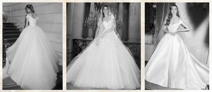 бальные свадебные платья 2019