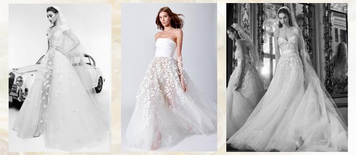 Пышные свадебные платья 2019
