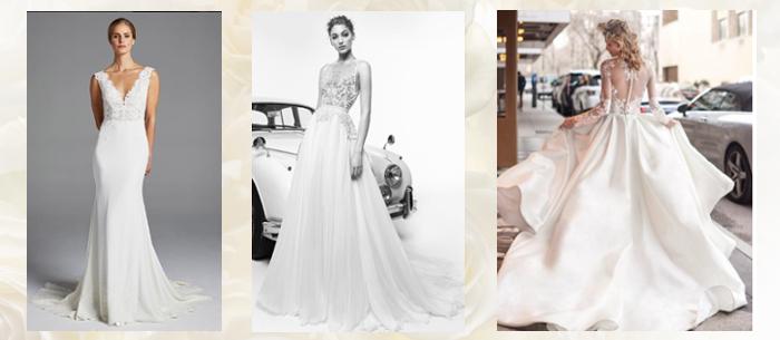 платья для свадьбы 2019
