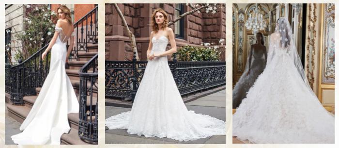 Свадебные платья со шлейфом 2019