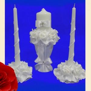 Свечи Семейный очаг с подставками Барокко 111