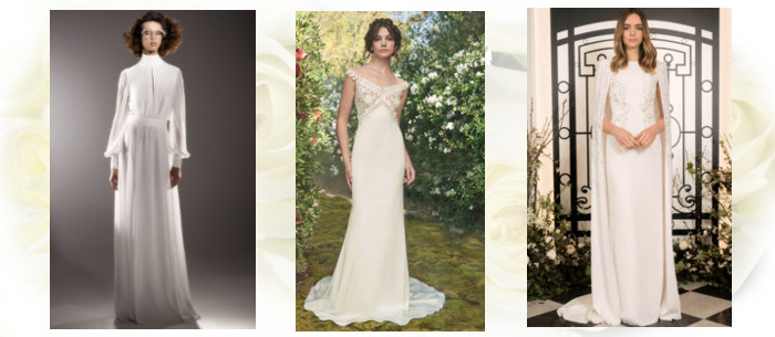 свадебные платья прямого покроя 2020