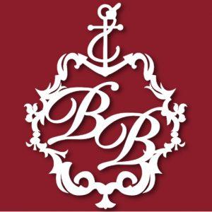 Герб семейный свадебный морской с якорем 39