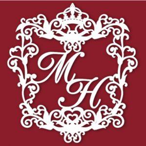 Герб семьи на свадьбу с короной от vashetorjestvo